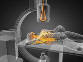 X-ray examination made in 3D — Stock Photo