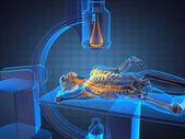 X-ray examination made in — Stock Photo