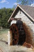 Water Wheel turning — Stock Photo