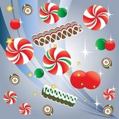 Christmas Candy — Stock Vector