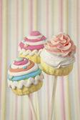 Colorido cupcake pops — Foto de Stock