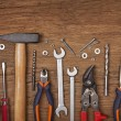 Set of different tools — Stock Photo