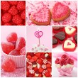Sweets for valentine's day — Stock Photo