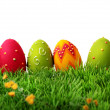 Colorful easter eggs — Stock Photo #8292246