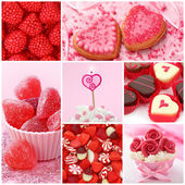 Sweets for valentine's day — Stock fotografie