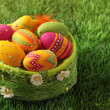Colorful easter eggs — Foto de stock #8546140