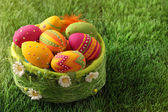 Colorful easter eggs — ストック写真