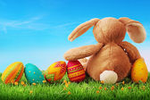 Renkli paskalya yumurtaları — Stok fotoğraf