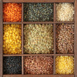 Different lentils — Stock Photo #8896852