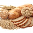 Bread and wheat — Stock Photo #8999917