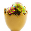 Easter egg cup — Stock Photo