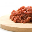 Fresh red raw meat — Stock Photo