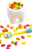 Candy molar — Stock Photo