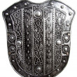 Stock Photo: Old shield
