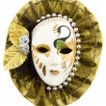 Fancy character mask — Stock Photo #8839616