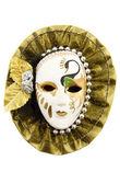 Fancy teken masker — Stockfoto