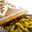 Stock Photo: Tajine beans
