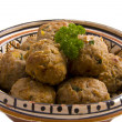 Tasty meat balls — Stock Photo