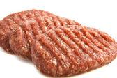 Tasty burgers — Stock Photo