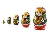 Strawberry matryoshka — Stock Photo
