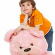 A pink bear — Stock Photo #9839726