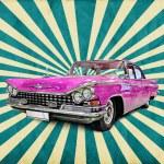 Retro car — Stock Photo #9840273