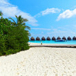 Beach of Maldives — Stock Photo #9840290