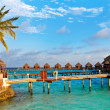 Water villas — Stock Photo #9840310