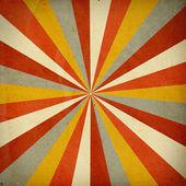 Retro background with orange pattern — Stock Photo