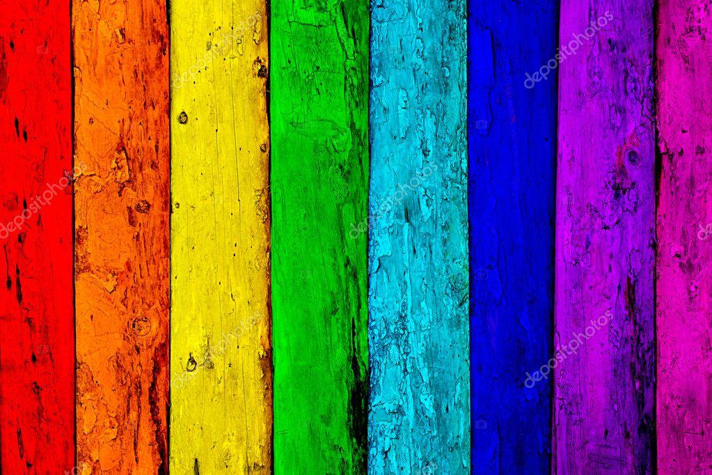 Sfondo multicolore di tavole di legno vecchio foto stock - Tavole legno vecchio prezzi ...