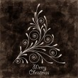 Elegant Christmas background — Stock Vector