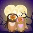 Stock Vector: Lovely owl
