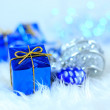 Christmas gift boxes — Stock Photo #7976709