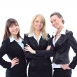 Portrait of three beautiful businesswomen — Stock Photo