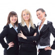 Portrait of three beautiful businesswomen — Stock Photo #8136332
