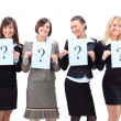 Stock Photo: Group of unidentifiable business women