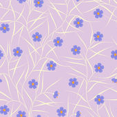 Floral seamless pattern — Vettoriale Stock