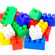 Children's Designer of the bricks - Stock Photo