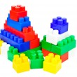 Children's Designer of the bricks — Stock Photo