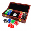 Casino chips. Photo gambling — Stock Photo