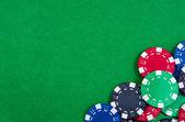 Kasinomarker. foto spel — Stockfoto
