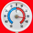 Outdoor thermometer — Stock Photo #9230503
