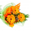 Stock Photo: Floral bouquet gerbera