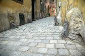 Alley At Fleischmarkt — Stock Photo