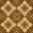 Seamless Batik Pattern - Stock Vector