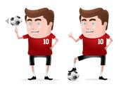 Fotbalista — Stock vektor