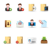 Web Icons - More Group collaboration — Stock Vector