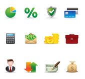 Web Icons - More Finance — Stock Vector