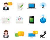Web Icons - Communication — Stock Vector