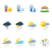 Web Icons - More Weather — Stock Vector